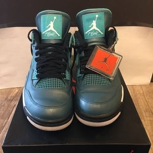 Nike Air Jordan 4 30th Anniversary Teal Mens sz 11